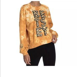 BETSEY JOHNSON Tie Dye Leopard Print NWT